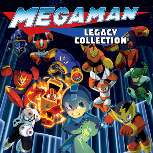 [HOT NEWS] MEGA MAN LEGACY COLLECTION 1-2 IN ARRIVO SU SWITCH! COPERTINA