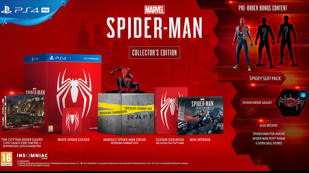 MARVEL'S SPIDERMAN DI INSOMNIAC IL 7 SETTEMBRE SU PS4 01