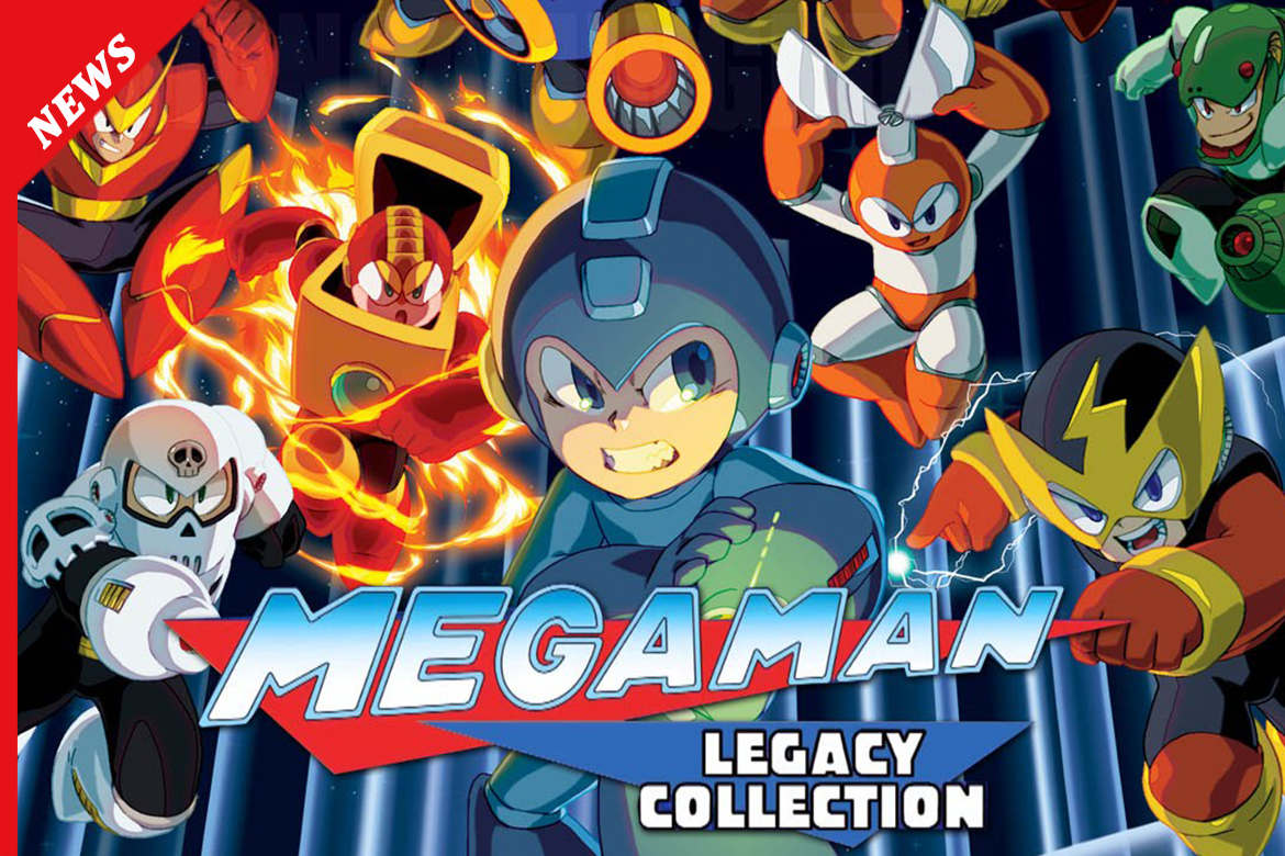 MEGA MAN LEGACY COLLECTION 1-2 SI MOSTRA IN LIVE STREAM!