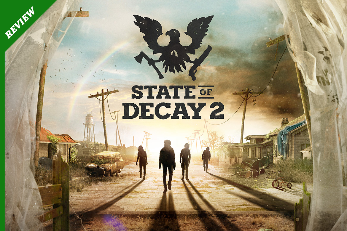 STATE OF DECAY 2 COPERTINA