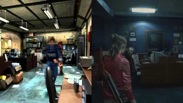 Comparativa Resident Evil 2 Remake News 2