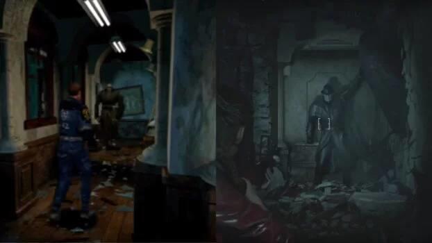 Comparativa Resident Evil 2 Remake News 6