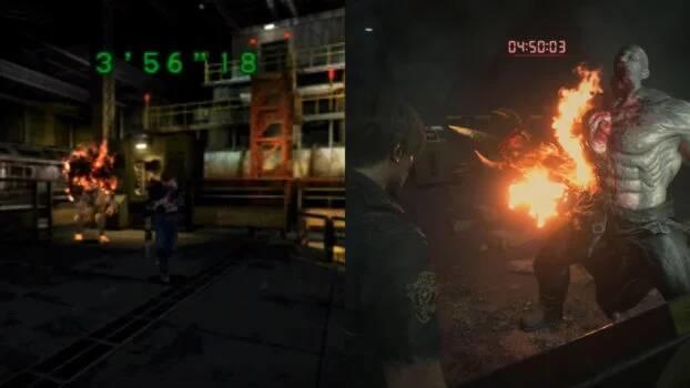 Comparativa Resident Evil 2 Remake News 7